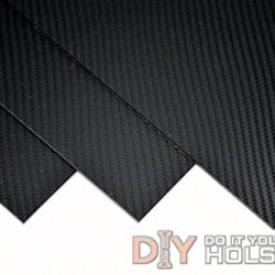 "Carbon Fiber Pattern Thermoform Sheet - Two 8""X12"" .080"" Thick Sheets"