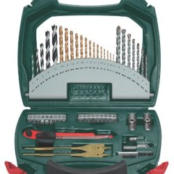 Metabo Accessory Set In Case With Drill And Screwdriver Bits, 55 Piece