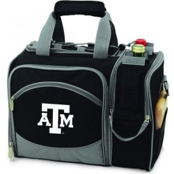 Texas A&M Aggies Malibu Insulated Picnic Shoulder Pack/Bag - Navy W/Embroidery