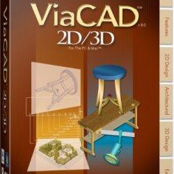 Viacad 2D/3D Pc & Mac V8