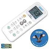HQRP Universal Remote Control Compatible with SAMSUNG DB93 00861A DB93 00861B DB93 01364B DB93 01433E DB93 01717Q DB93 01717R Air Conditioner + HQRP Coaster