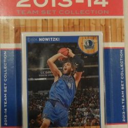 Dallas Mavericks 2013 2014 Hoops Basketball Nba Licensed Factory Sealed 11 Card Team Set With Dirk Nowitzki And More
