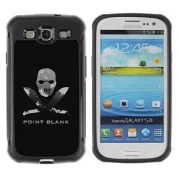 Tiktaktok Armor Defend Case Cover For Samsung Galaxy S3 - Point Blank Machete Face