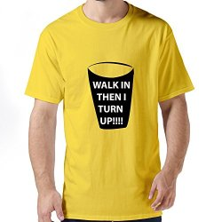 Best Turn Men T Shirt X-Small Yellow