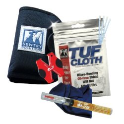 Sentry Solutions Field Gear Care Kit, Black Fabric Pouch