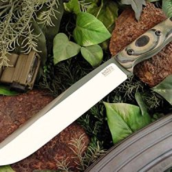 Bark River Sts-8 Fixed Blade Knife,8.5In,154Cm Stainless Blade,Mil-Spec Camo G-10 07-168G Msc