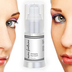 Eye Circles Less Apparent, Mimi Fontaine Eye Cream Reduces Look Of Dark Circles For Men & Women 100% Guaranteed - Best Under Eye Cream - Anti Aging Under Eye Moisturizer Best For Reducing The Appearance Of Wrinkles, Puffiness, Fine Lines, And Bags Under T