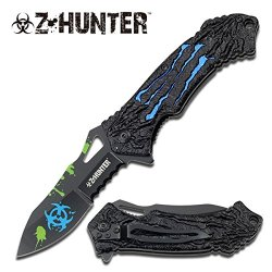 """Z-Hunter """"The Relic"""" Knife - Blue - A Must Have For Zombie Hunters"""