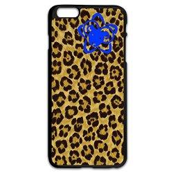 Fashion Leopard Print Fabric Pc Case For Iphone 6 Plus