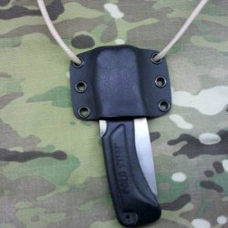 Cold Steel Xl Voyager Knife Custom Kydex Sheath - Black Color