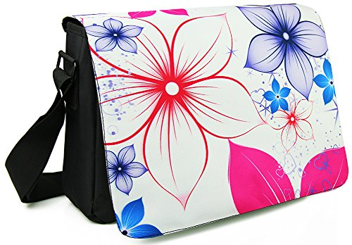 WATERFLY-Fashion-Soft-Lightweight-Nylon-156-Inch-Padded-Compartment-Shoulder-Messenger-Bag-Case-Cover-Handbag-Crossbody-Hybrid-Bag-Hobo-Bag-Traveling-Bag-Sports-Duffels-Bag-124