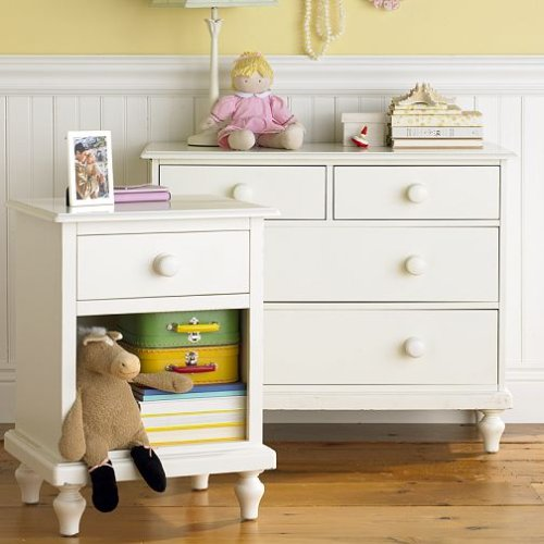 Image of Pottery Barn Kids Berkeley Dresser & Nightstand (B0013I54CW)