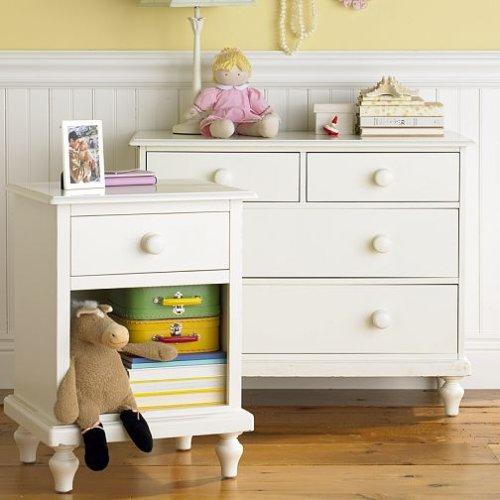 Image of Pottery Barn Kids Berkeley Dresser & Nightstand (B0013I54CW)