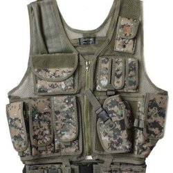 Marpat Usmc Digital Camo Tactical Vest Army Rt Handed Holster Paintball Airsoft