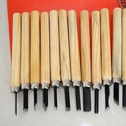 12 Piece Wood Carving Wooden Chisel Tool Set Chisels 135 Mm