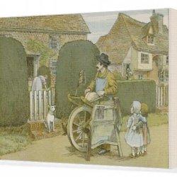 Canvas Print Of Knife Grinder (Bedford)
