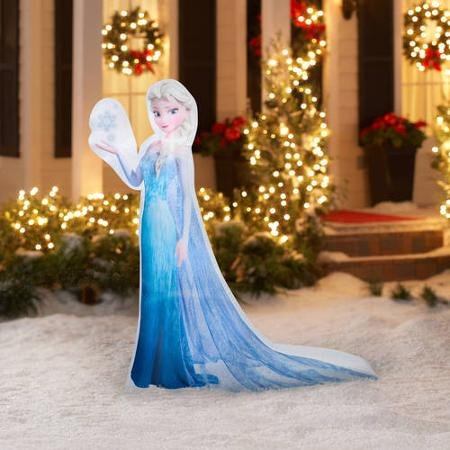 Frozen christmas inflatables lawn decorations for the for Airblown christmas decoration