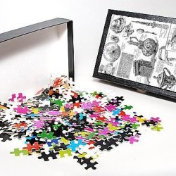 Photo Jigsaw Puzzle Of Items In The Tudor Exhibition, 1890