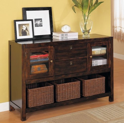 Image of Console Table in Rich Tobacco - Coaster (VF_AZ00-10862x36567)