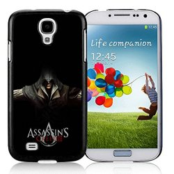 Diy Assassins Creed Desmond Miles Hands Knifes Hood Samsung Galaxy S4 I9500 Black Phone Case