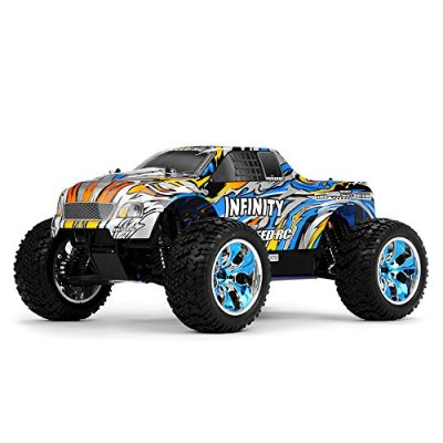 110-24Ghz-Exceed-RC-Infinitve-Nitro-Gas-Powered-RTR-Off-Road-Monster-4WD-Truck-Stripe-Blue-STARTER-KIT-REQUIRED-AND-SOLD-SEPARATELY