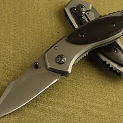 Survival Rescue Camping Hunting Folding Sharp Knife Bkx11-5.70''