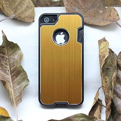 Anko Multi-Functional Metal Protective Phone Case With A Small Swiss Army Knife For Apple Iphone 5 5S (Yellow)