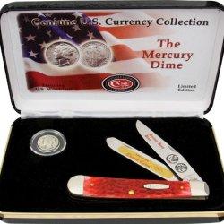 Case Mercury Dime Gift Set.