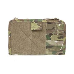 Warrior Assault Systems Gen2 Command Panel With Fold Out Map Sleeve And Velcro Fastening, Multicam