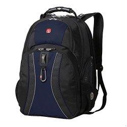 Green Ace Swissgear Scansmart 17'' Laptop / Notebook Backpack - Blue