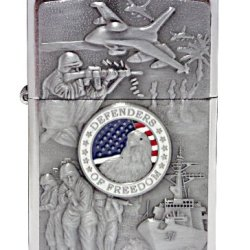 Zippo Military Pocket Lighter