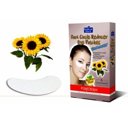 Purederm Botanical Choice Dark Circle Reducer Eye Patches - Sunflower 6 Treatments