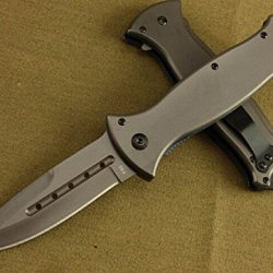 Black Rescue Speedster Hole Folding Pocket Knife Bkf45-8.66''