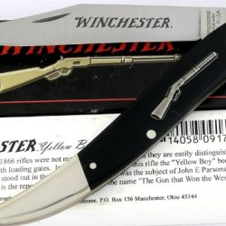 Winchester Usa Large Toothpick Yellow Boy Riffle Knife Serial Number