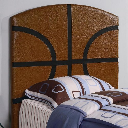 Image of Twin Size Kid Headboard with Basketball Design (VF_460166)