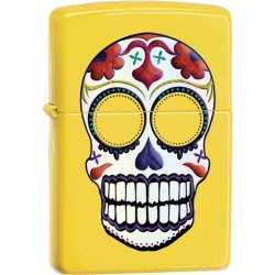Zippo Lighter- Yellow Day Of The Dead
