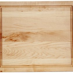 J.K. Adams Maple Wood Cutting Board, 14-Inches By 12-Inches, Square