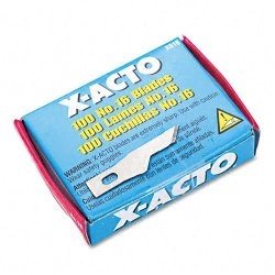 X-Acto : #16 Bulk Pack Blades For X-Acto Knives, 100 Per Box -:- Sold As 2 Packs Of - 100 - / - Total Of 200 Each