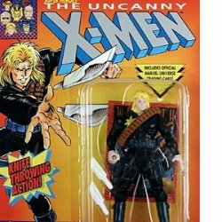 Year 1993 The Original Mutant Super Heroes The Uncanny X-Men 5 Inch Tall Acti...