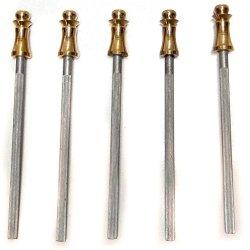 Pocket Knife Sharpening Steel, Set Of 5, Made In England, Model #Usi-1312