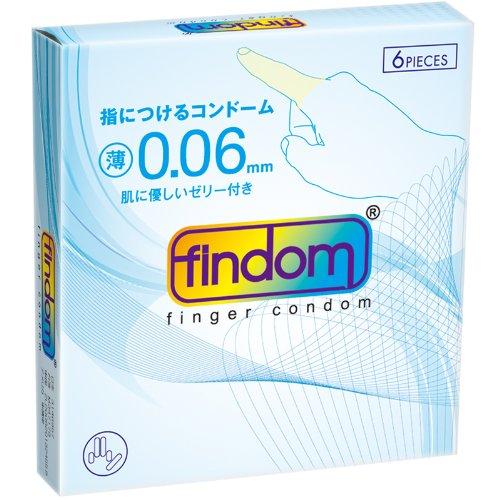 ピュアモ フィンドム 肌に優しい 指専用 コンドーム (6枚入り)