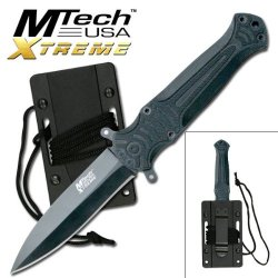 "Ta-37Gy M Tech Xtreme Tactical Neck Knife Jgcohak6Ub 7.75 "" Yzwz5Iwg Overall Ayeuiu56 Hlbv23Rt Tactical Fixed Blade Knife7.75"" Overall440 Stainless Steel Zco8Hno Black Glretrbgg Bladeg-10 Handleincludes Mold Injected Sheath With Lanyard"