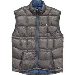 Backcountry.Com Wayfarer Down Vest - Men'S Charcoal/Dark Blue, M