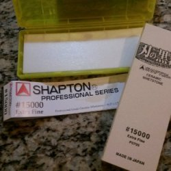 Shapton 15000 Grit (Yellow) Professional Series Waterstone