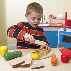 Game / Play Melissa & Doug Cutting Food, Cutting Foods, Cutting Food Box, Melissa And Doug Cutting Food Toy / Child / Kid