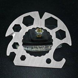Verany Gear Wheel Outdoor Survival Multi Function Keychain Tool