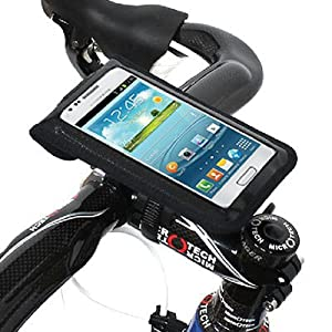 [正規品] 【BM WORKS】 SLIM3 (黒, L) 《自転車用 スマートフォン ホルダー》 iPhone 5・4S・4・3GS, Galaxy S3・S2・S・NOTE・NOTE 2 マルチケース