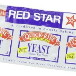 Red Star Quick Rise Yeast, For Use In Your Oven Or Bread Machine, 2012 Chef'S Best Taste Award, 0.75 Oz (Pack Of 4)