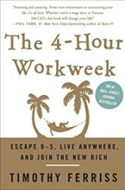 """Cover of """"The 4-Hour Workweek: Escape 9-5..."""