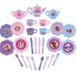 Sofia The First Dinnerware Set, 26-Piece